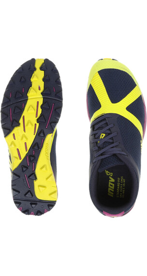 inov-8 W's Terraclaw 220 Navy/Lime/Purple